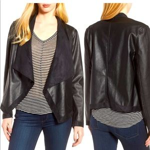 BB Dakota Tegan Black Reversible Jacket M